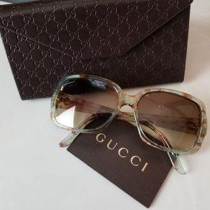 Gucci multicolor sunglasses.